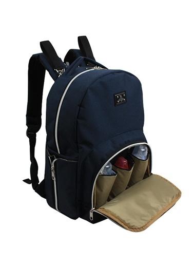 Stylo Duo Backpack For Mothers Bebek Bakım Sırt Çantası Lacivert